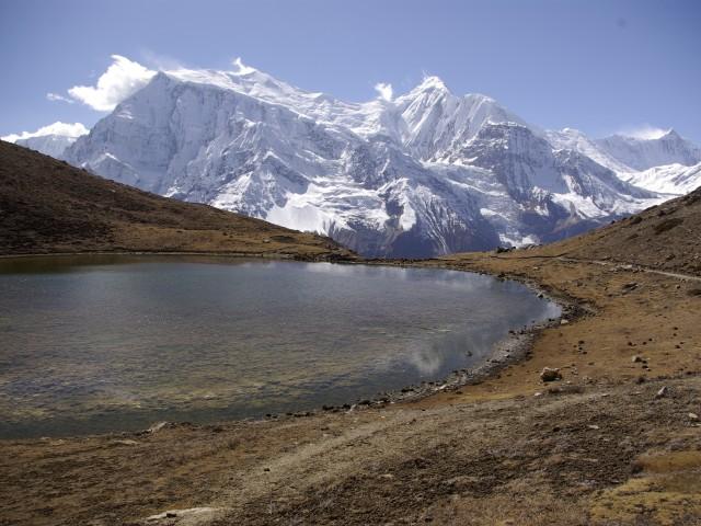 IceLake_widok_na_Gangapurne_i_AnnapurneII